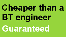 Cheaper than a BT engineer guaranteed - Telecom Services Worcestershire IMAGE